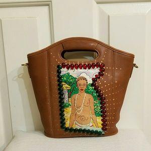 Rare coach top handle bag